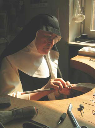 Sr Margaretha Holfelder working.jpg